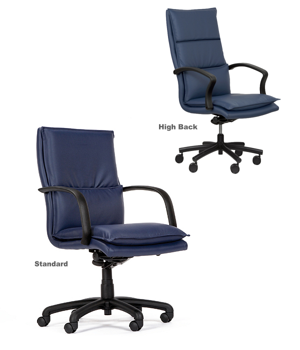 The 330/430 is a Medium or High Back Multi-Shift Chair