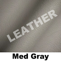 24/7 Heavy Duty Chair color option - Medium Gray Leather